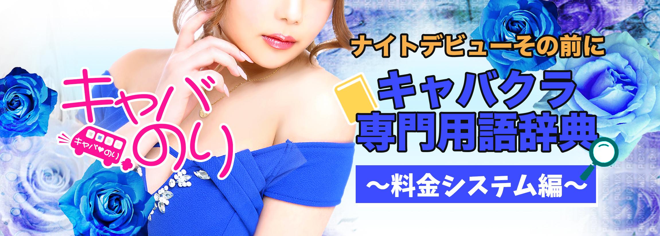 【覚えて安心♪】キャバクラ専門用語辞典〜料金システム編〜【ナイトデビュー】